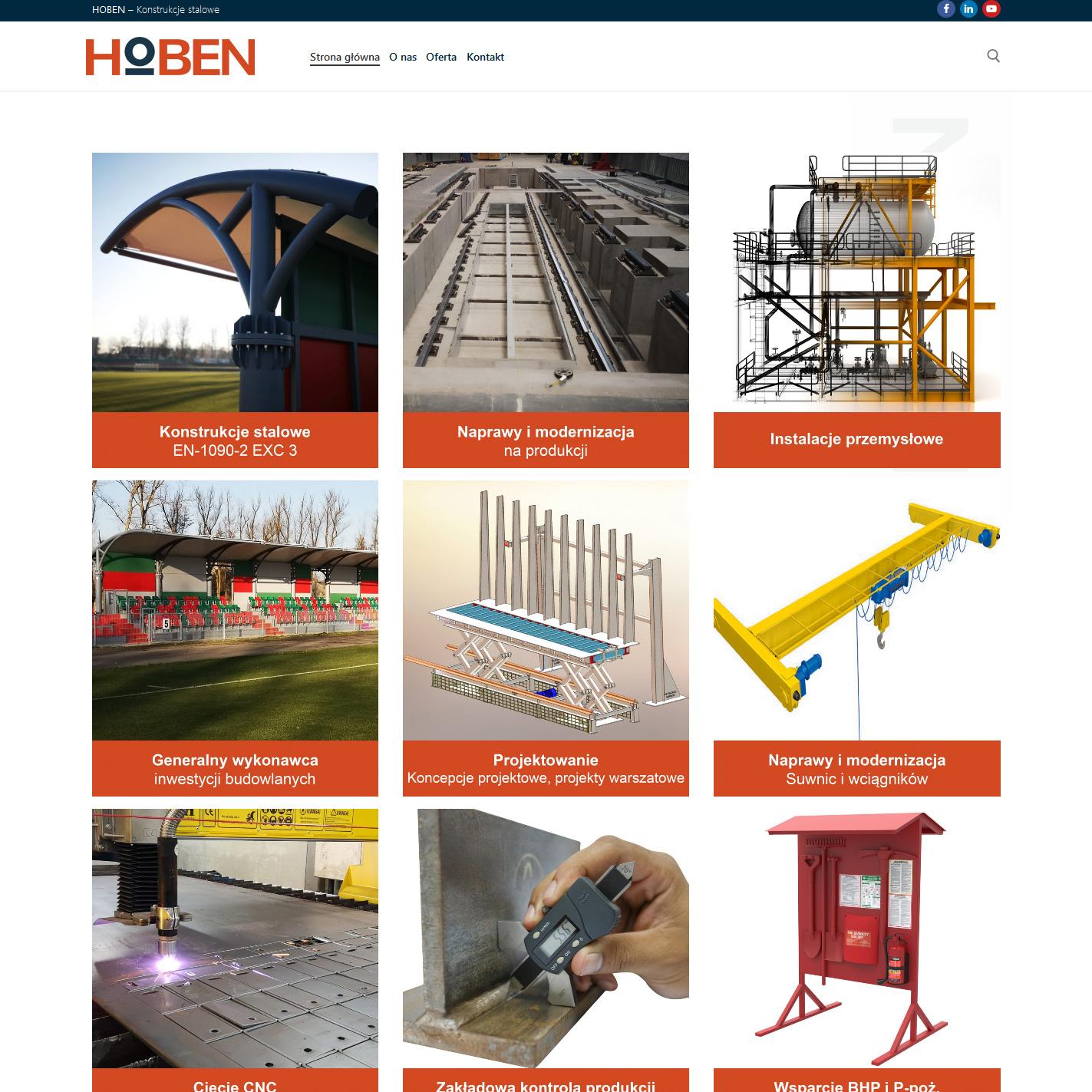 Hoben - konsrukcje stalowe