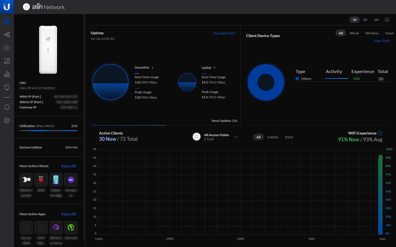 UniFi Network Controller wersja 6.1.71